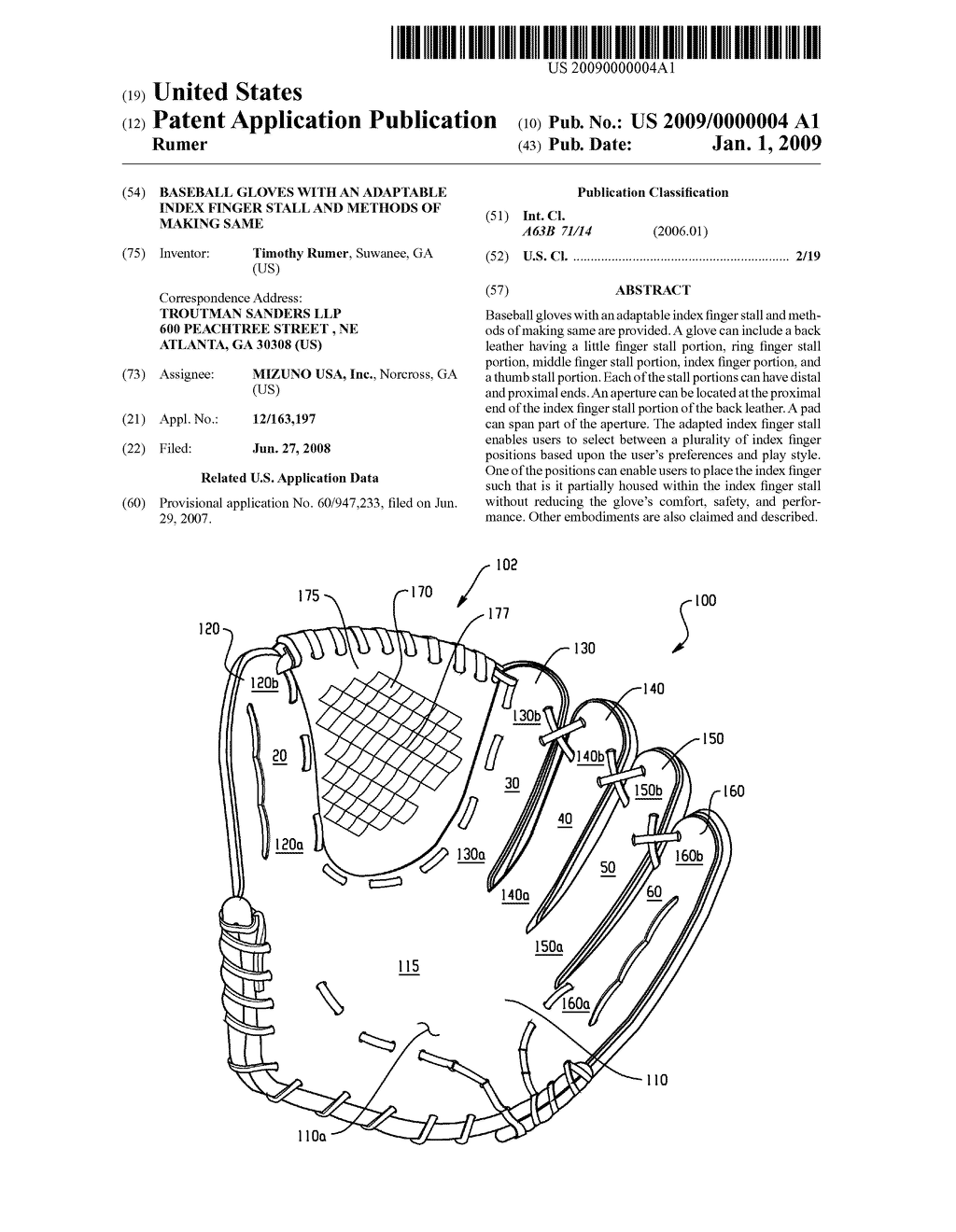 Terrific Baseball Gloves With An Adaptable Index Finger Stall And Methods Of Wiring Database Wedabyuccorg