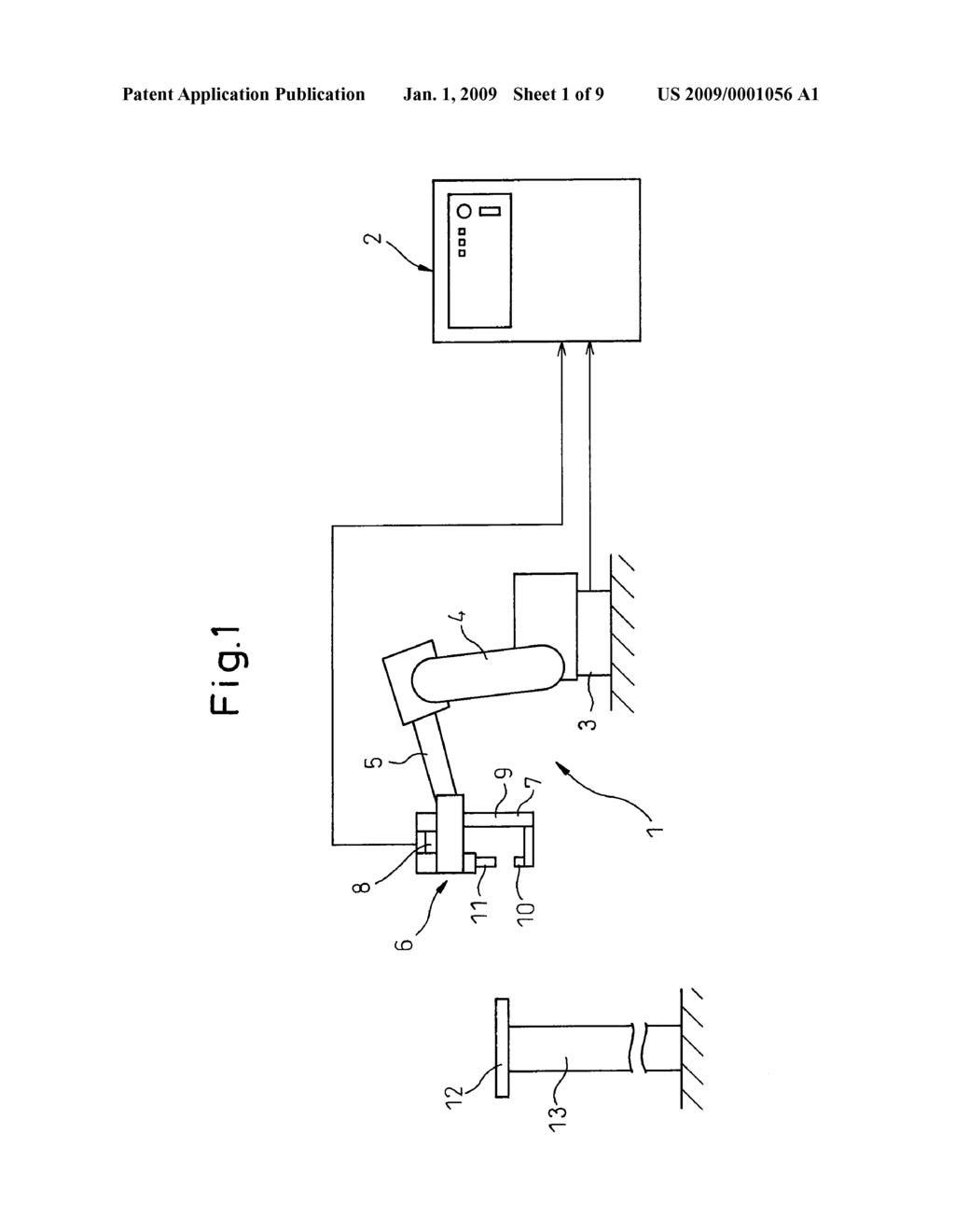 positioning method of spot welding robot diagram, schematic, and arc welding diagram positioning method of spot welding robot diagram, schematic, and image 02