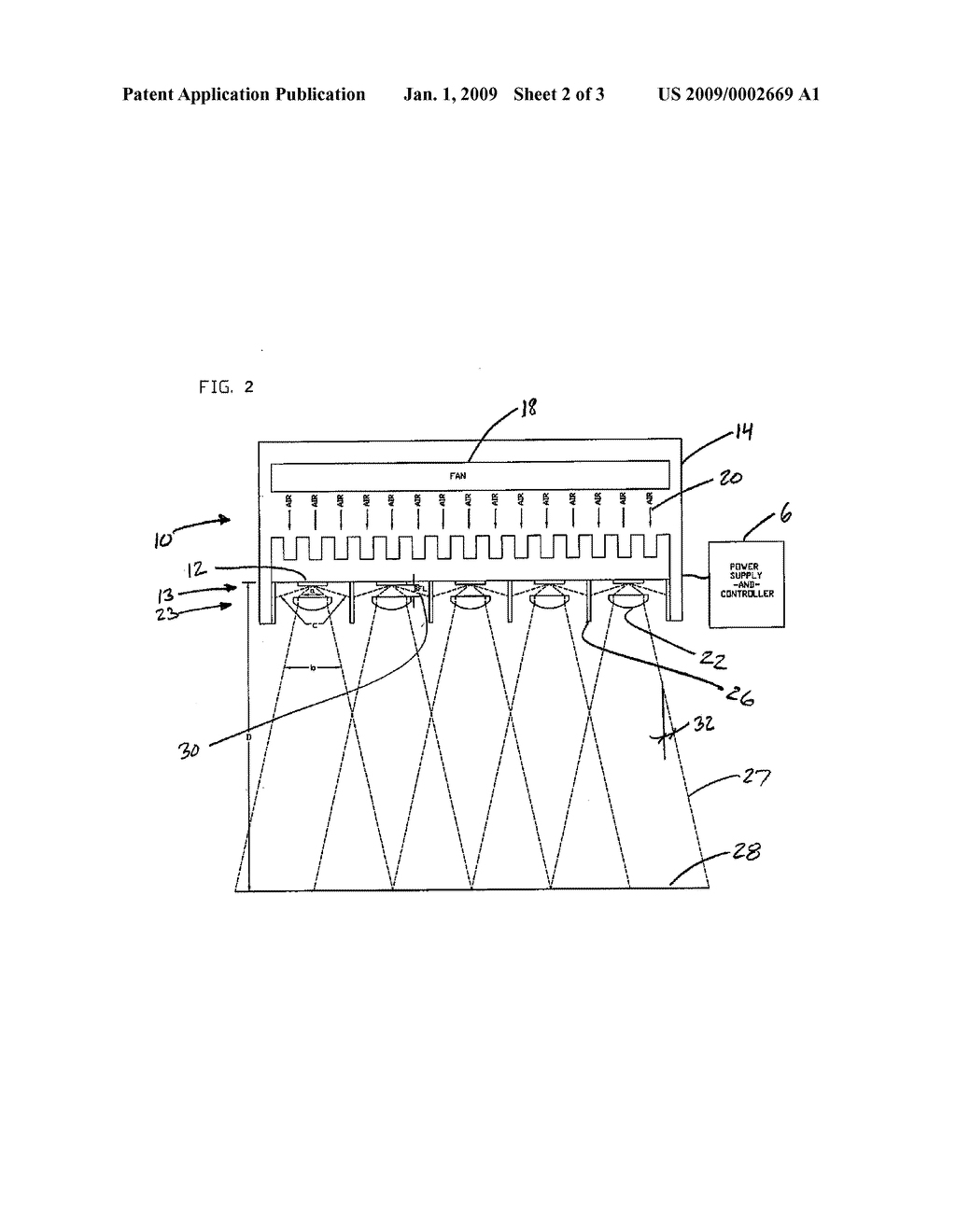 ULTRAVIOLET LIGHT-EMITTING DIODE EXPOSURE APPARATUS FOR MICROFABRICATION - diagram, schematic, and image 03
