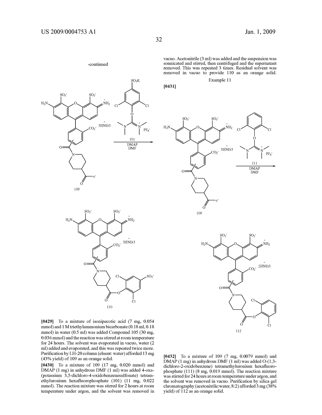 LABELING REAGENTS AND METHODS OF THEIR USE - diagram, schematic, and image 41