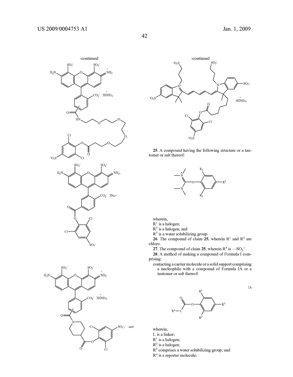LABELING REAGENTS AND METHODS OF THEIR USE - diagram, schematic, and image 51