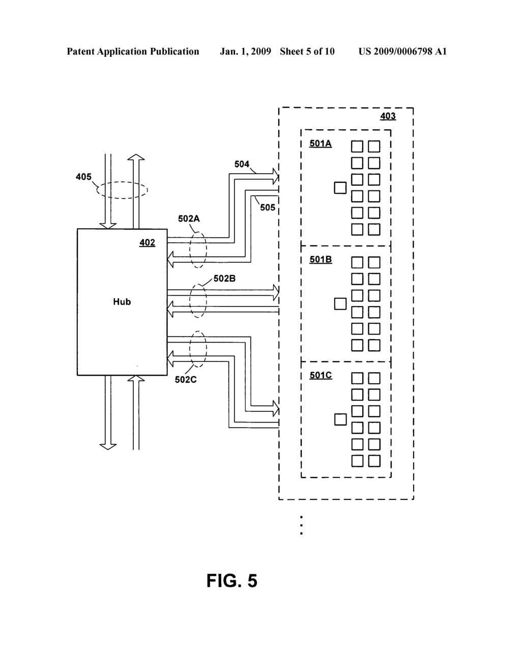 Structure for Memory Chip for High Capacity Memory Subsystem Supporting Replication of Command Data - diagram, schematic, and image 06