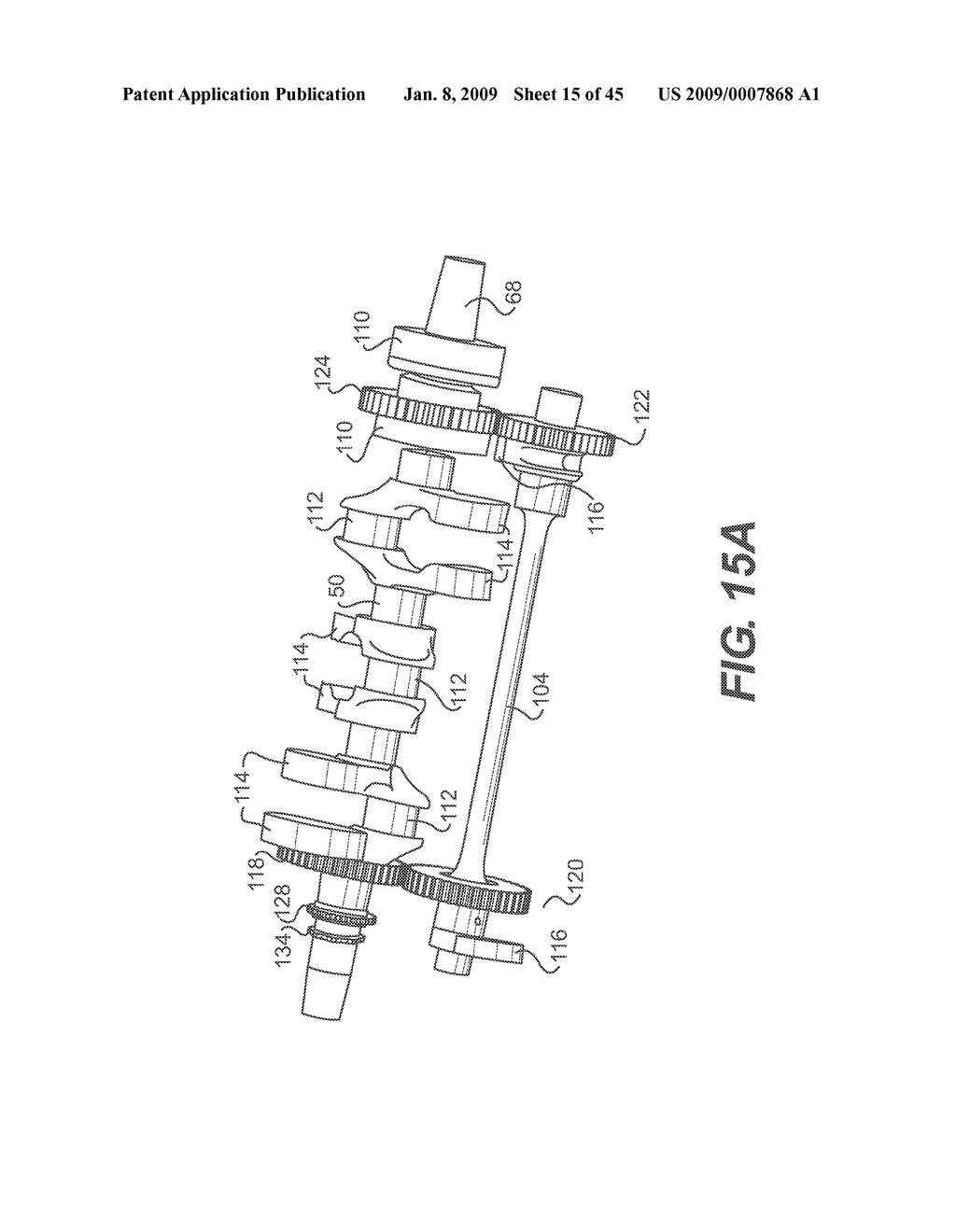 INTERNAL COMBUSTION ENGINE CAM FOLLOWER ARRANGEMENT - diagram, schematic,  and image 16