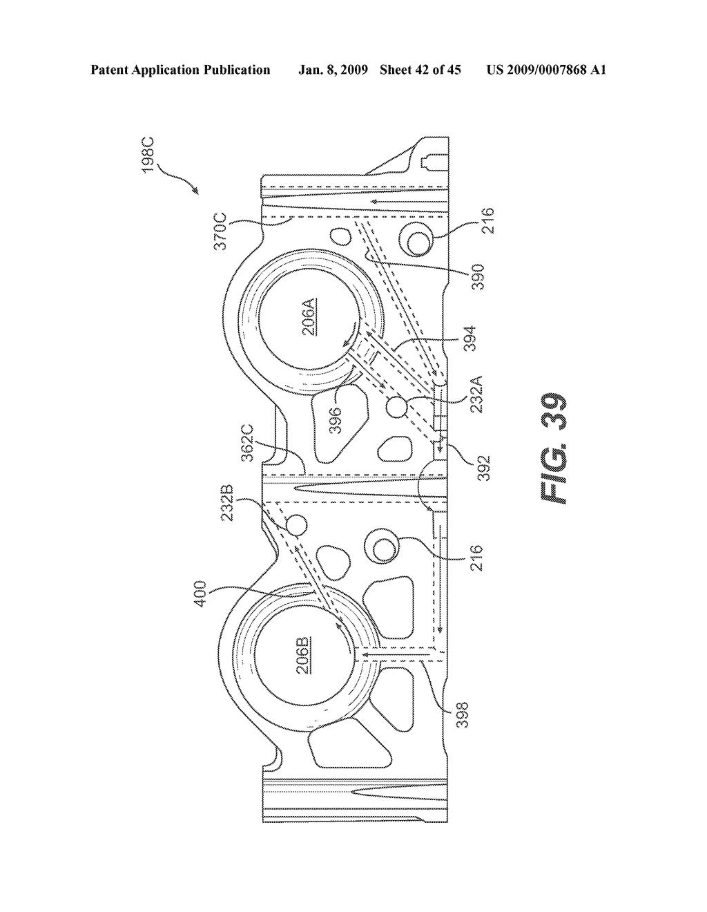 INTERNAL COMBUSTION ENGINE CAM FOLLOWER ARRANGEMENT - diagram, schematic,  and image 43