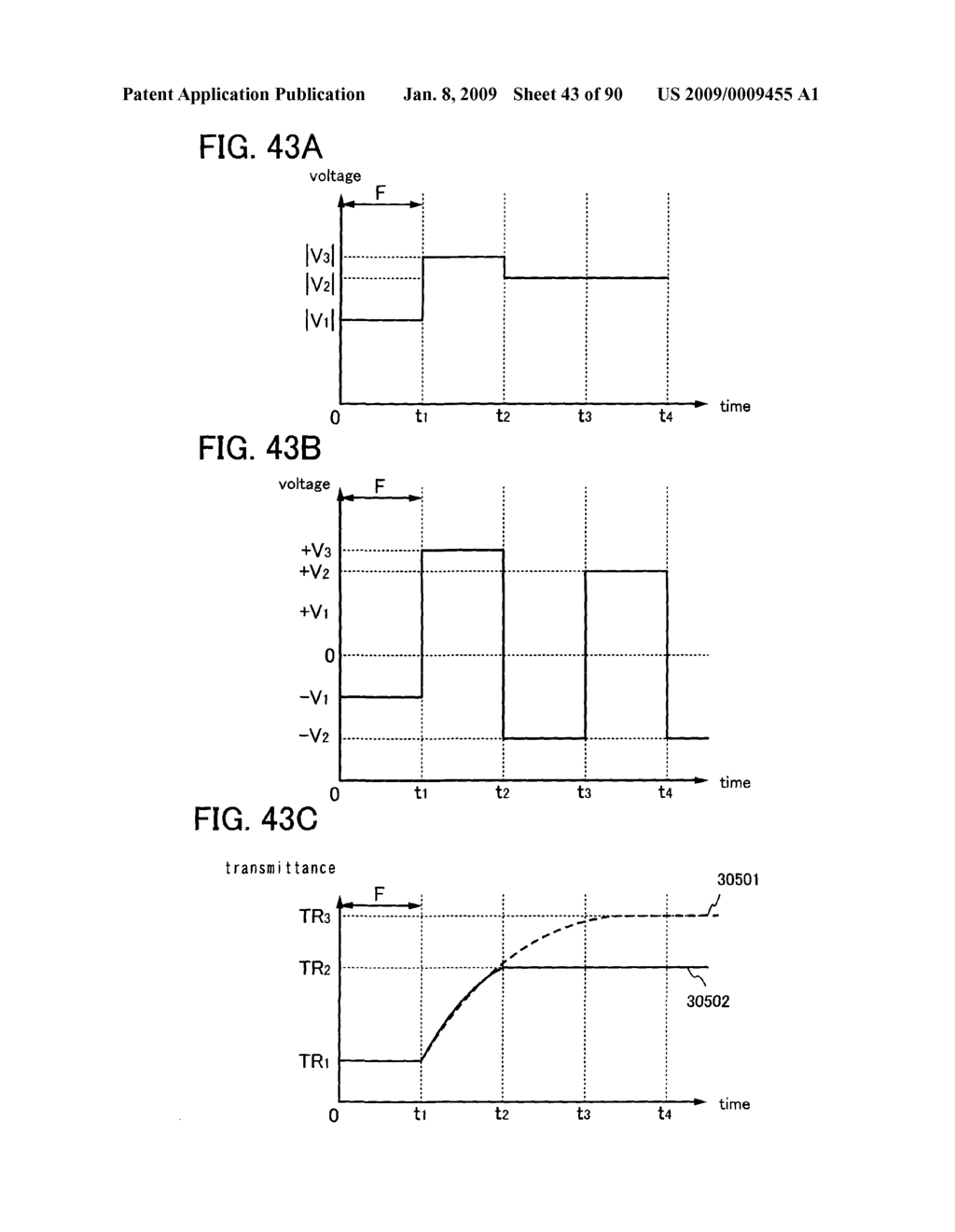 LIQUID CRYSTAL DISPLAY DEVICE, DRIVING METHOD OF THE LIQUID CRYSTAL DISPLAY DEVICE, AND ELECTRONIC DEVICE EMPLOYING THE SAME DEVICE AND THE SAME METHOD - diagram, schematic, and image 44