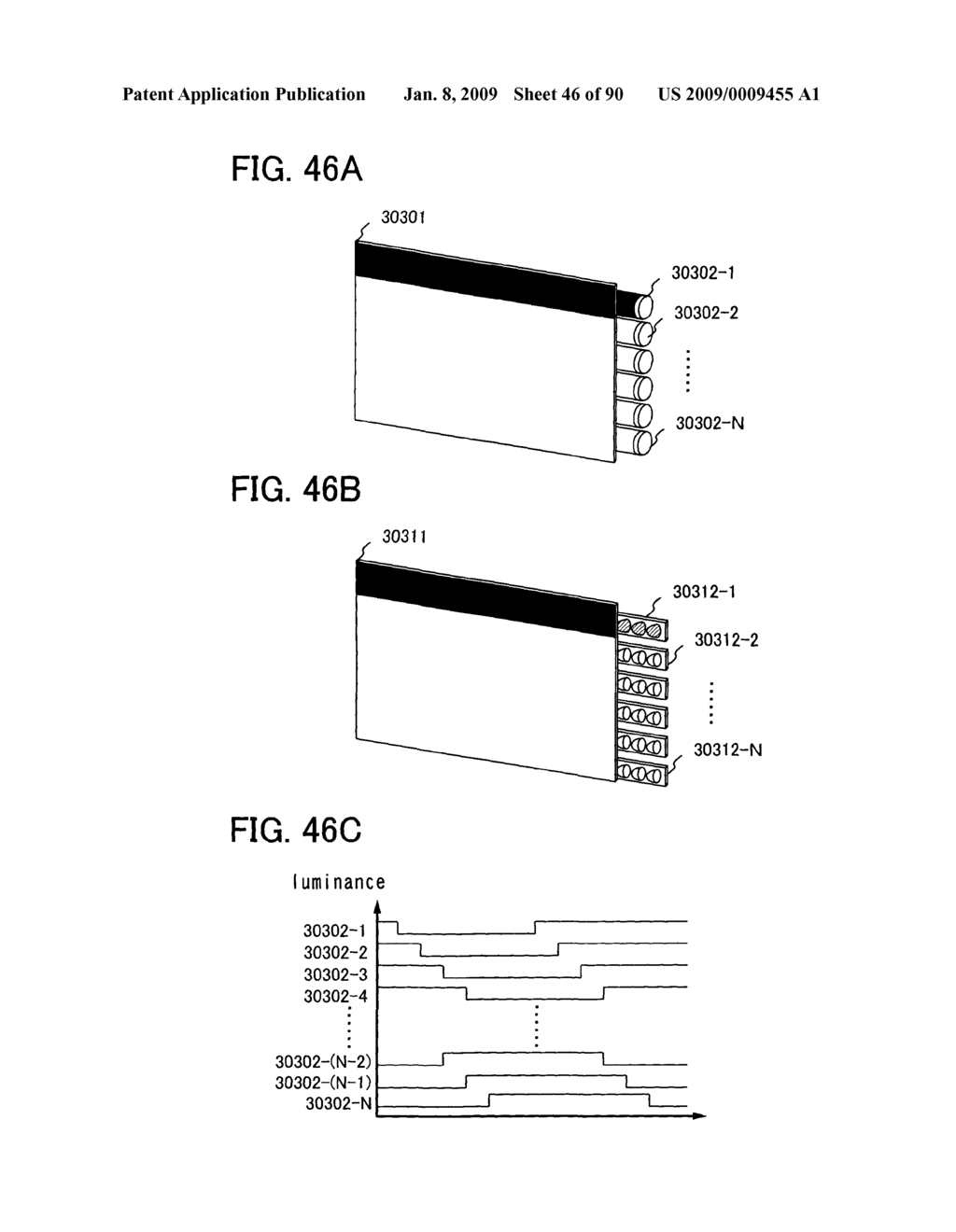 LIQUID CRYSTAL DISPLAY DEVICE, DRIVING METHOD OF THE LIQUID CRYSTAL DISPLAY DEVICE, AND ELECTRONIC DEVICE EMPLOYING THE SAME DEVICE AND THE SAME METHOD - diagram, schematic, and image 47