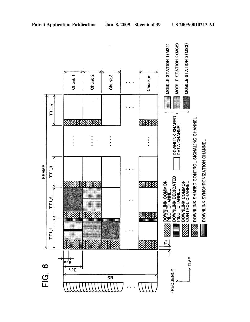 Mobile Station Device, Base Station Device, Mobile Station Device Operating Frequency Band Mapping Method, Location Management Device, Mobile Station Device Location Registration Method, Paging Method, and Program for Executing the Same and Recording Medium - diagram, schematic, and image 07