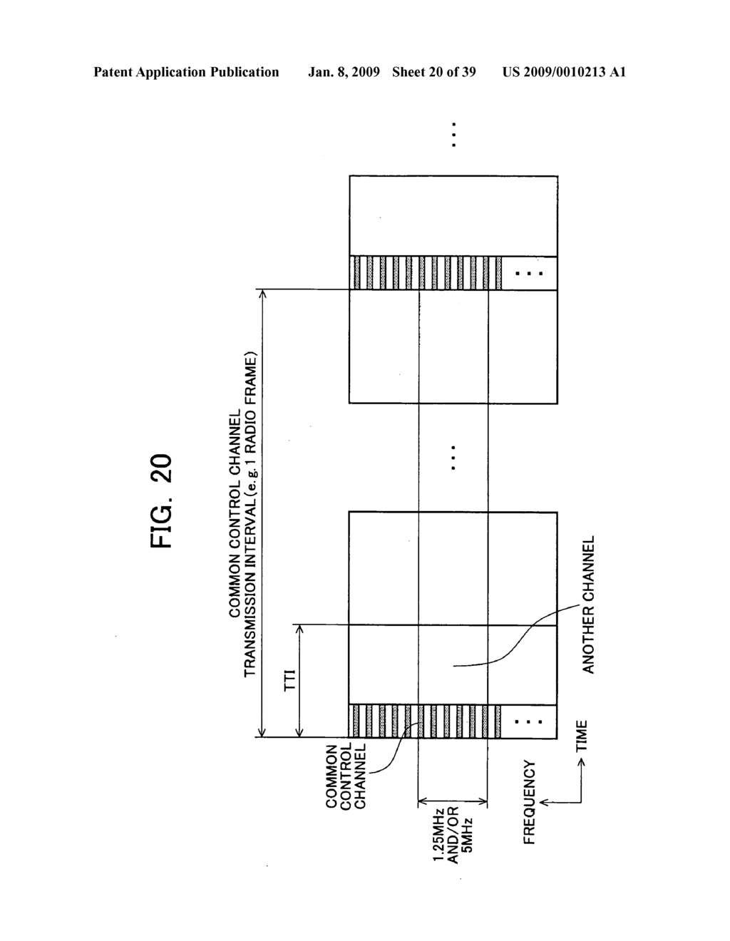 Mobile Station Device, Base Station Device, Mobile Station Device Operating Frequency Band Mapping Method, Location Management Device, Mobile Station Device Location Registration Method, Paging Method, and Program for Executing the Same and Recording Medium - diagram, schematic, and image 21