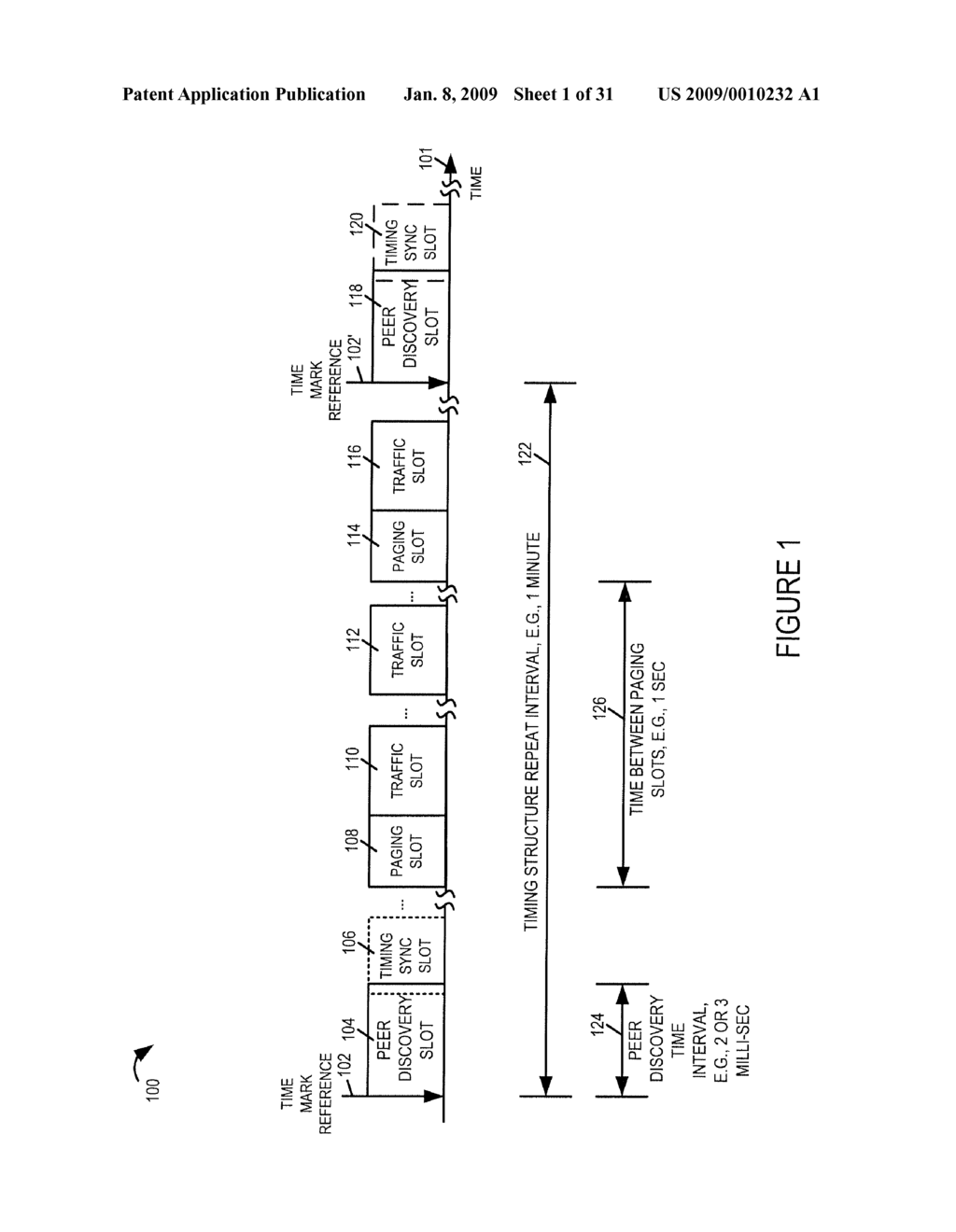METHODS AND APPARATUS RELATED TO PEER TO PEER COMMUNICATIONS TIMING STRUCTURE - diagram, schematic, and image 02