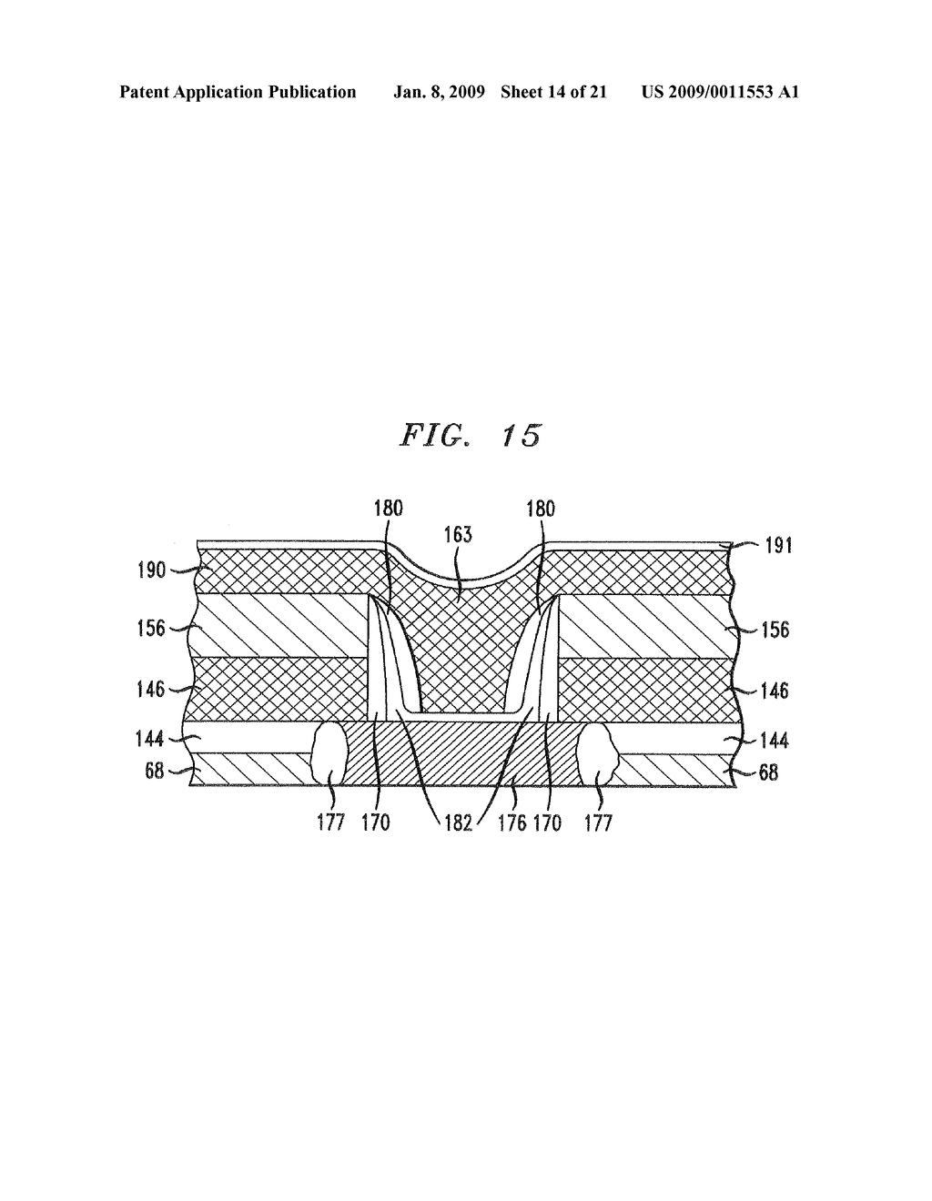 THERMALLY STABLE BiCMOS FABRICATION METHOD AND BIPOLAR JUNCTION TRANSISTOR FORMED ACCORDING TO THE METHOD - diagram, schematic, and image 15