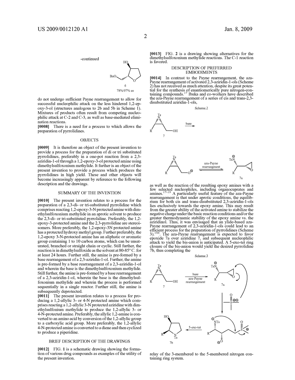 Synthesis of N-heterocycles, beta-amino acids, and allyl amines via aza-payne mediated reaction of ylides and hydroxy aziridines - diagram, schematic, and image 05