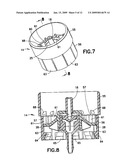 Plastic aerosol valve and method of assembly, mounting and retention diagram and image