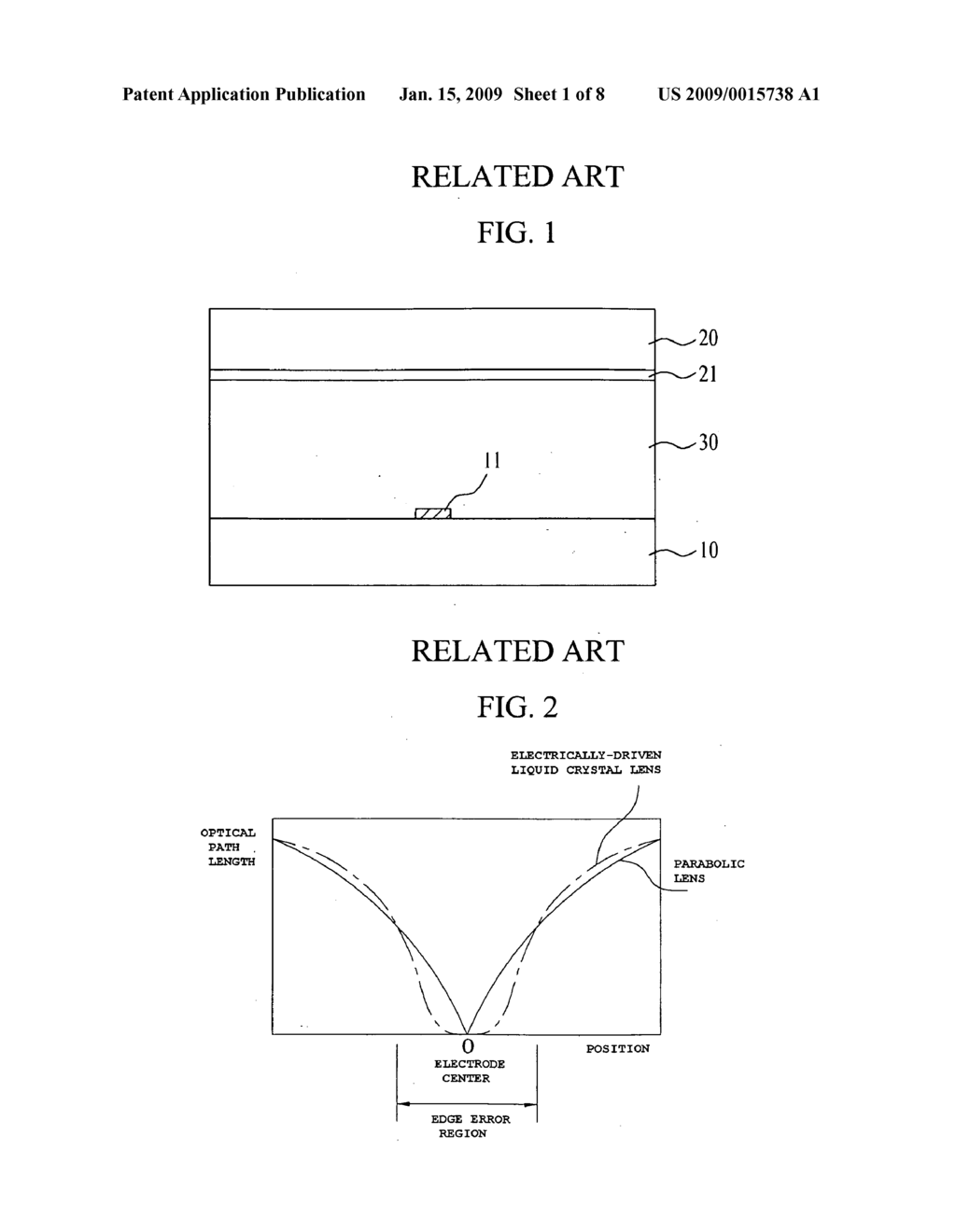 Electrically-driven liquid crystal lens and stereoscopic display device using the same - diagram, schematic, and image 02