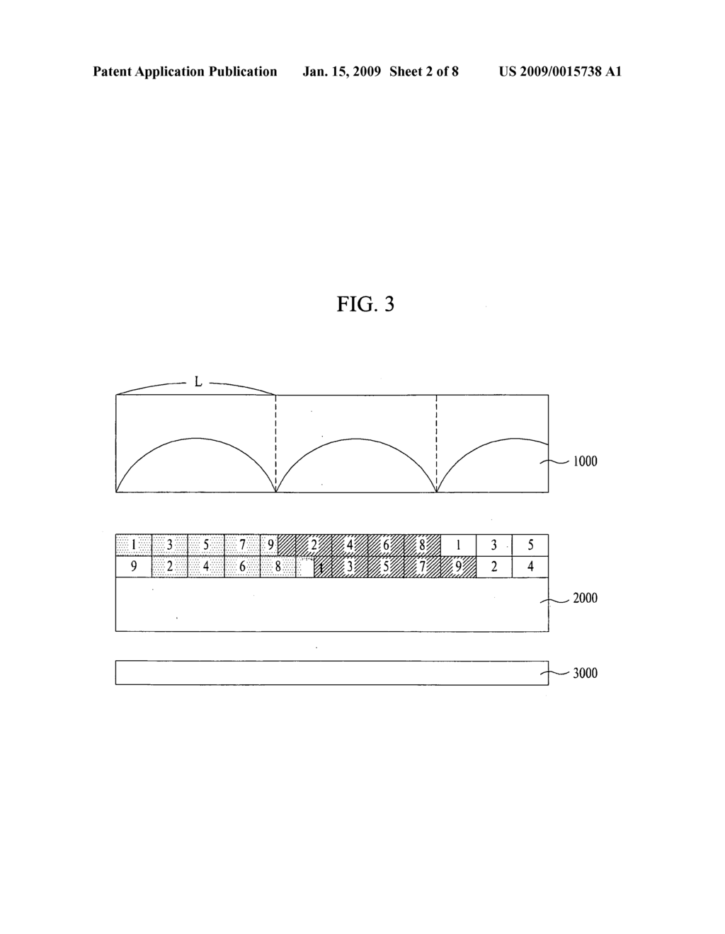 Electrically-driven liquid crystal lens and stereoscopic display device using the same - diagram, schematic, and image 03