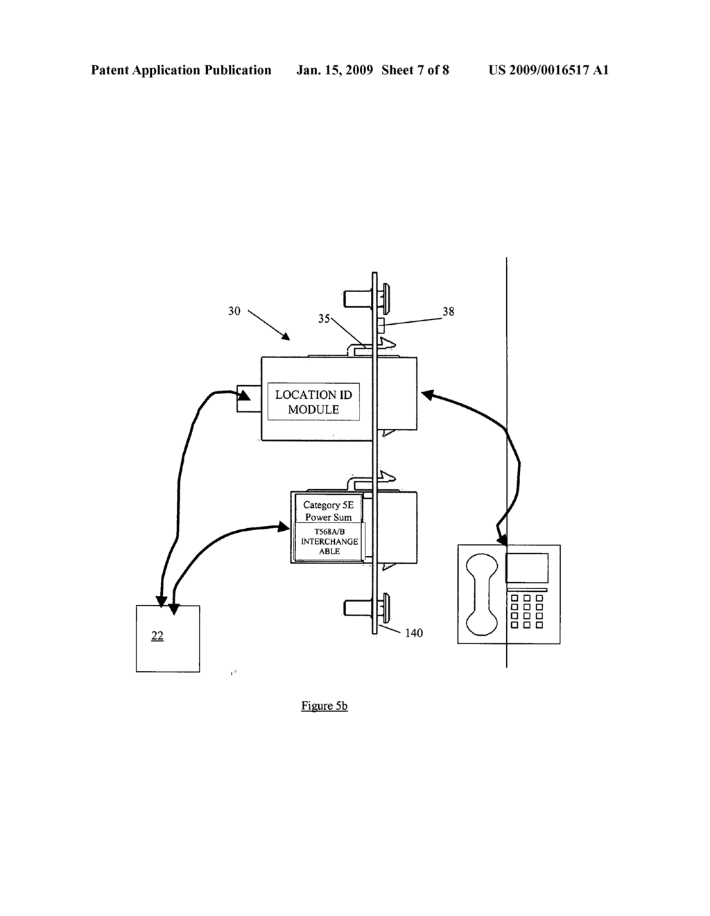 Location system and method for assisting emergency services in identifying the physical location of an IP telephony user - diagram, schematic, and image 08