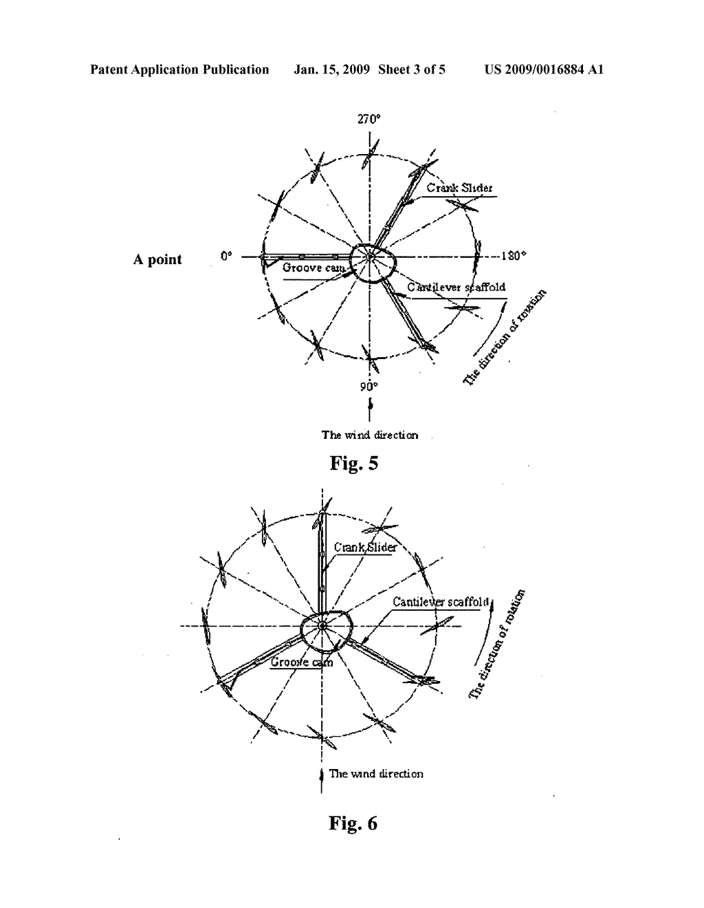DEVICE AND METHOD FOR ADJUSTING ANGLE-OF-ATTACK OF WIND