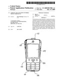 Storage and activation of mobile phone components diagram and image