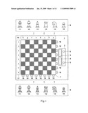 CHESS PLAYING METHOD AND DEVICE FOR CARRYING OUT SAID METHOD diagram and image