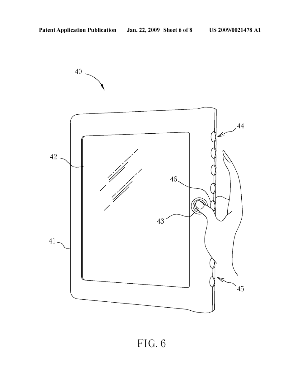 SWITCHING DEVICE AND METHOD FOR A PORTABLE DISPLAY PRODUCT - diagram, schematic, and image 07