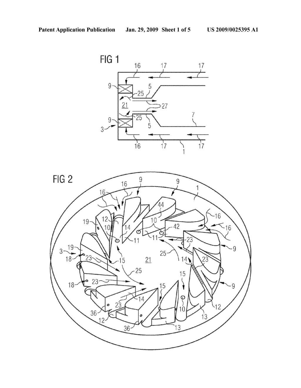 Swirler For Use In A Burner Of Gas Turbine Engine Diagram Schematic And Image 02