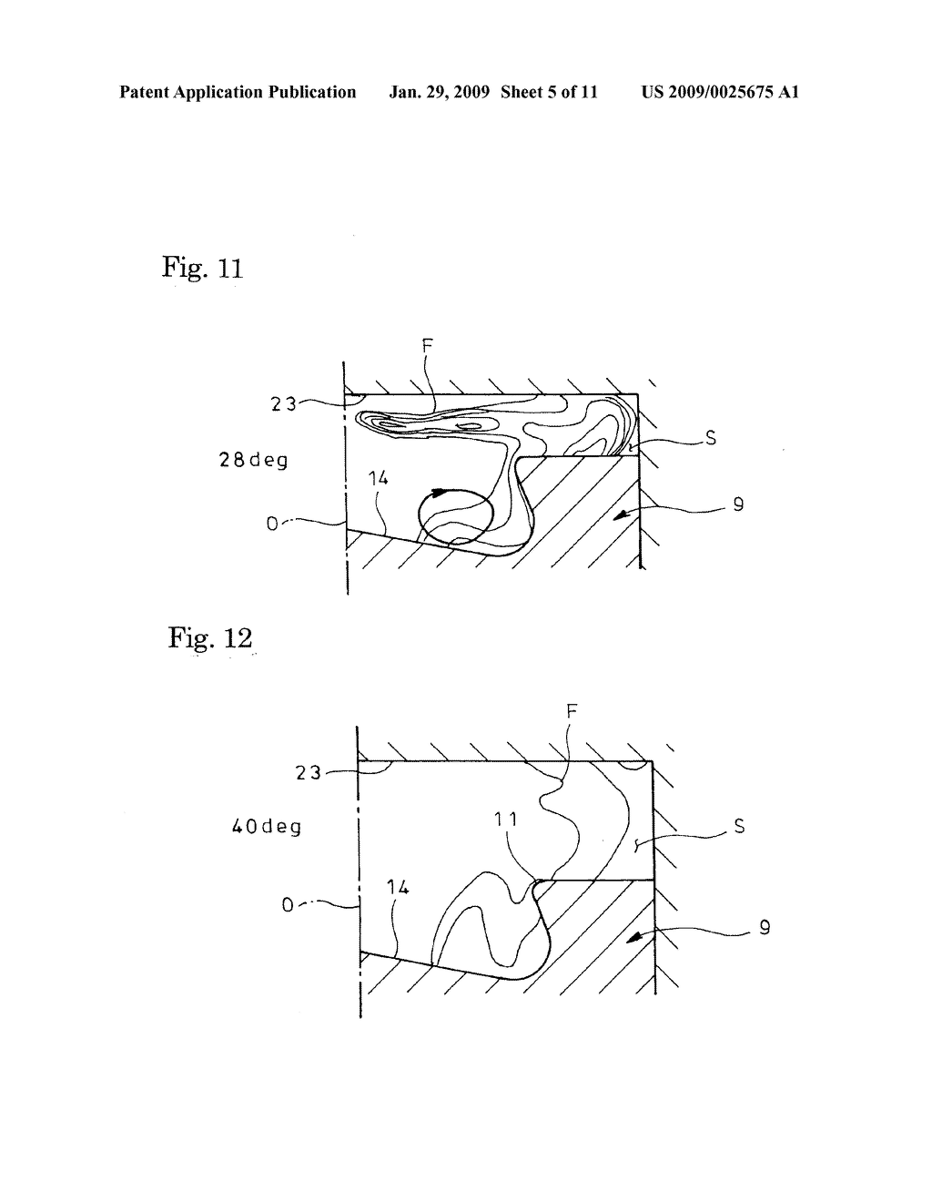 Combustion Chamber Structure For Direct Injection Diesel Engine Injected Diagram Schematic And Image 06