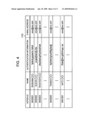 Entrustee information transmitting program, entrustee information transmitting apparatus, and entrustee information transmitting method diagram and image