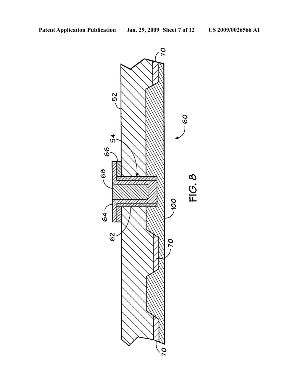 Semiconductor device having backside redistribution layers and method for fabricating the same - diagram, schematic, and image 08
