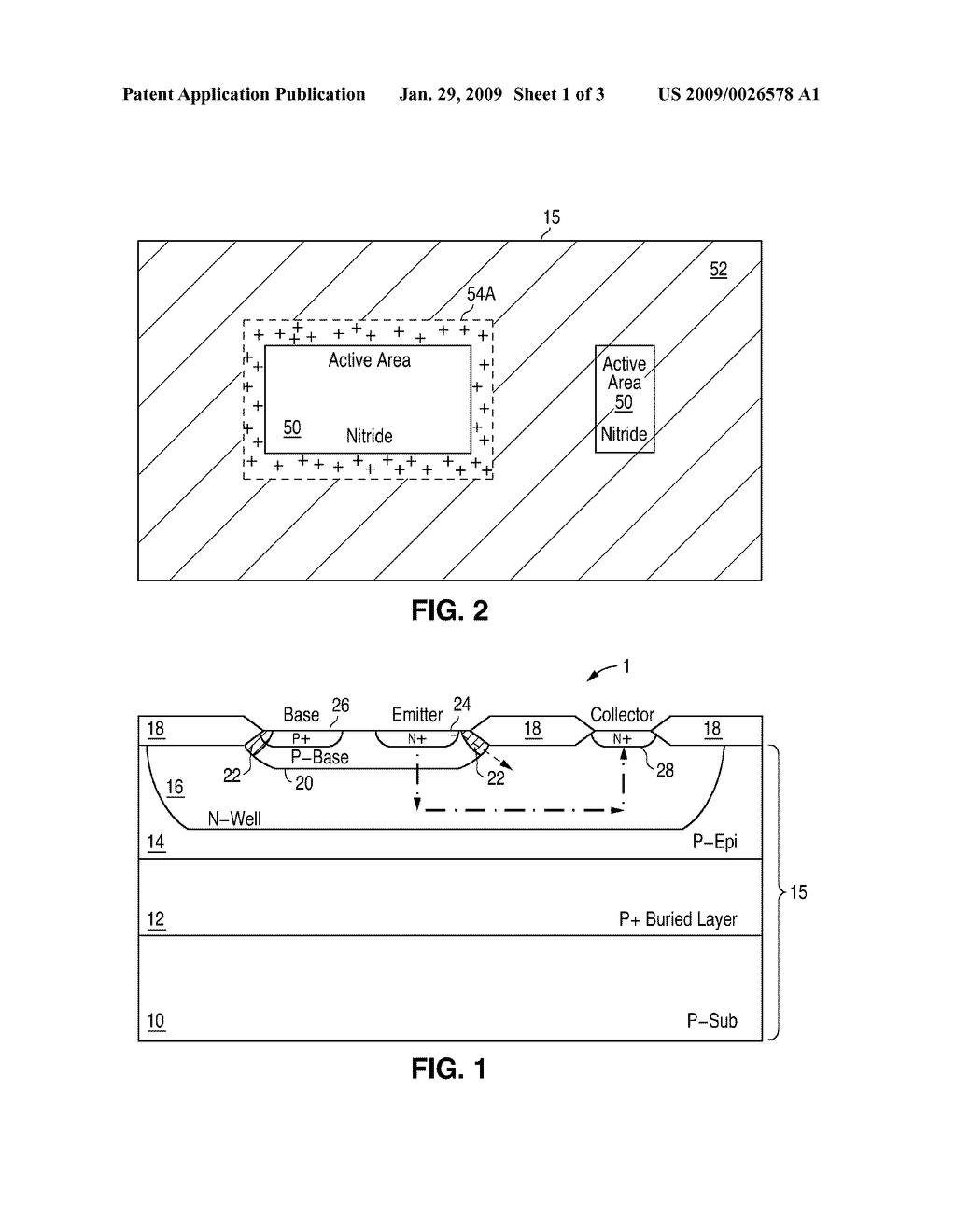 Vertical Npn Transistor Fabricated In A Cmos Process With Improved Wiring Diagram Electrical Characteristics Schematic And Image 02