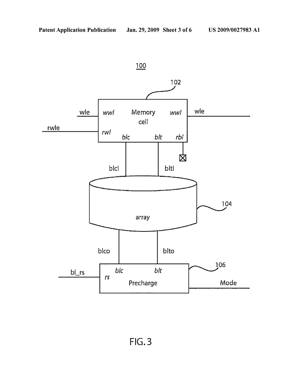 HALF-SELECT COMPLIANT MEMORY CELL PRECHARGE CIRCUIT - diagram, schematic, and image 04
