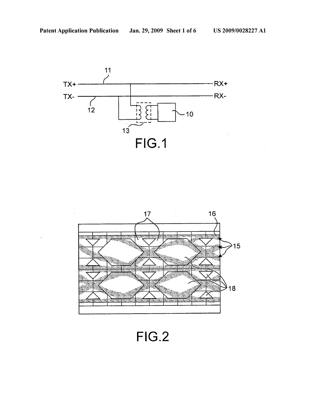 Method and device for interception of data transiting on a link in an Ethernet network - diagram, schematic, and image 02