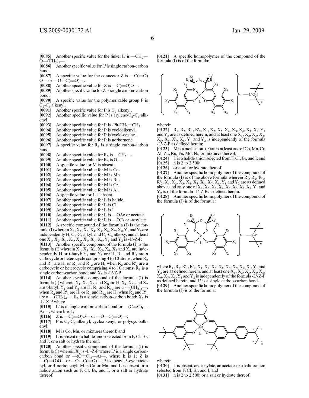 POLYMERIC SALEN COMPOUNDS AND METHODS THEREOF - diagram, schematic, and image 07