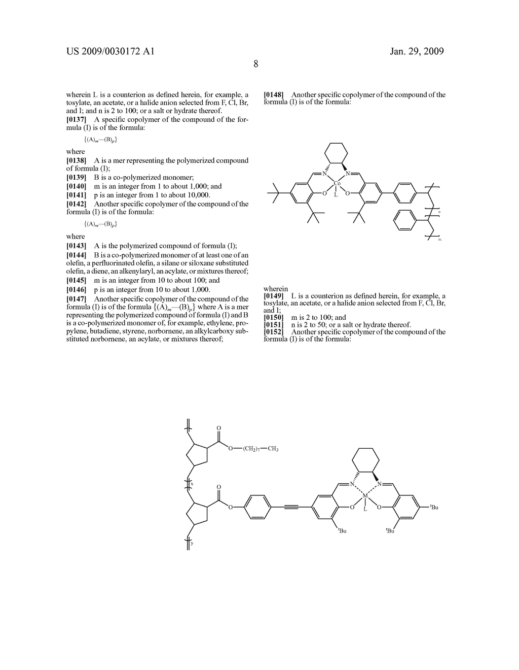 POLYMERIC SALEN COMPOUNDS AND METHODS THEREOF - diagram, schematic, and image 09