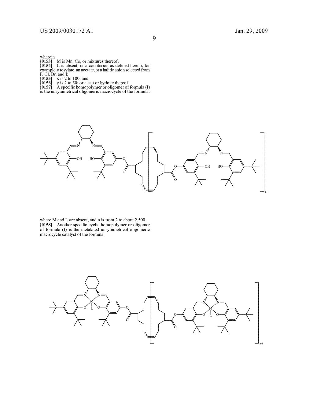 POLYMERIC SALEN COMPOUNDS AND METHODS THEREOF - diagram, schematic, and image 10