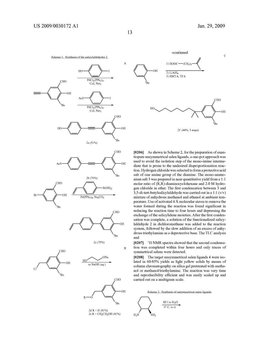 POLYMERIC SALEN COMPOUNDS AND METHODS THEREOF - diagram, schematic, and image 14