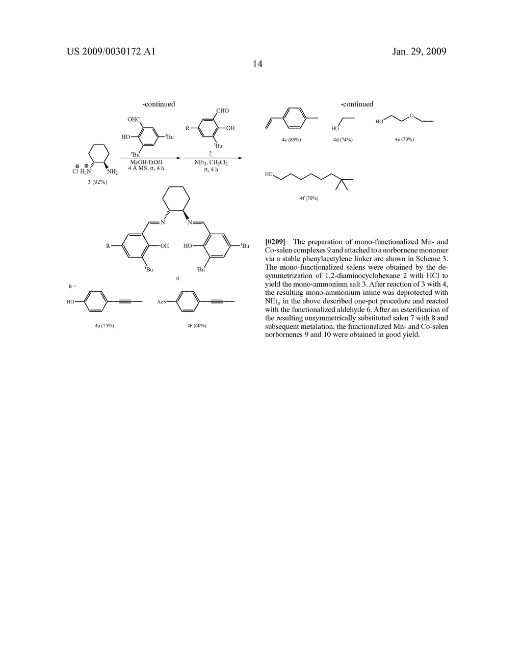 POLYMERIC SALEN COMPOUNDS AND METHODS THEREOF - diagram, schematic, and image 15