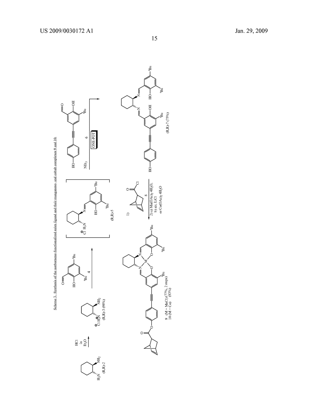 POLYMERIC SALEN COMPOUNDS AND METHODS THEREOF - diagram, schematic, and image 16