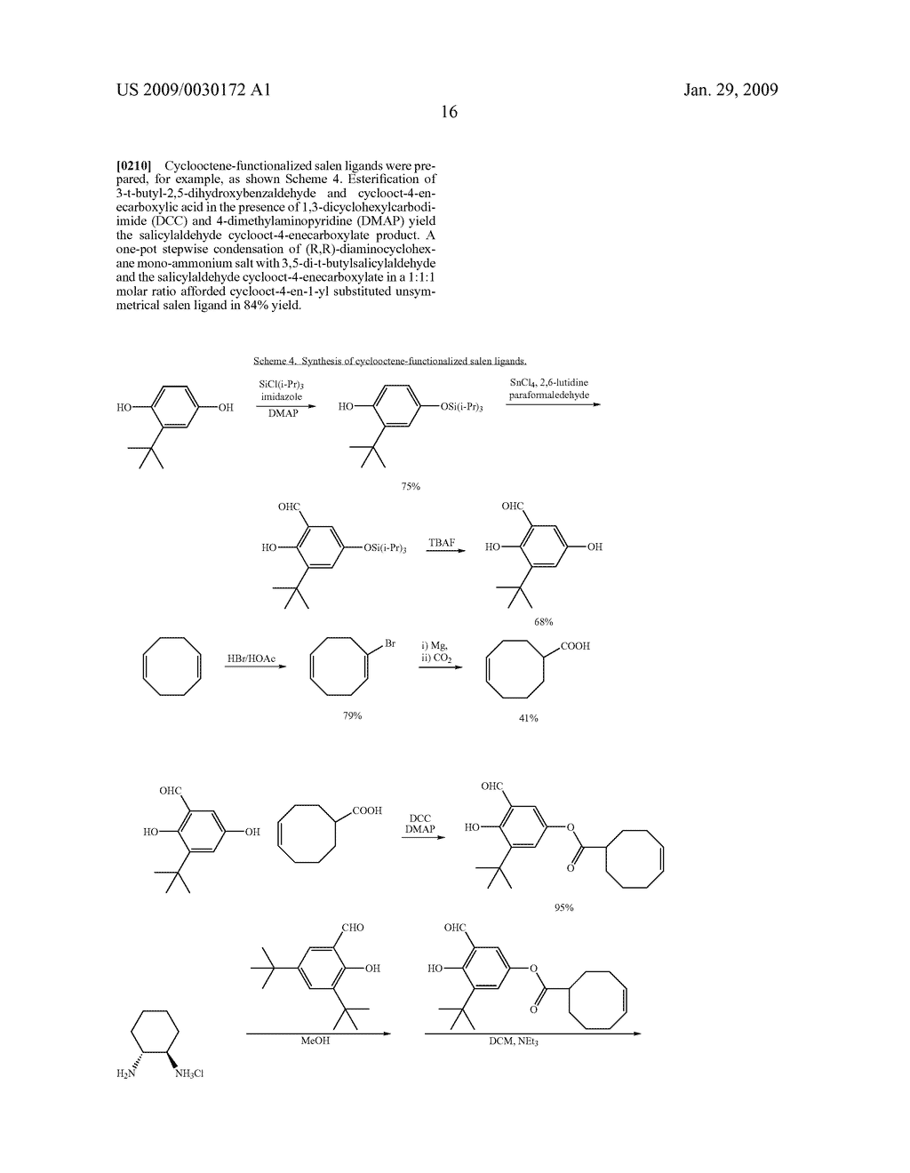 POLYMERIC SALEN COMPOUNDS AND METHODS THEREOF - diagram, schematic, and image 17