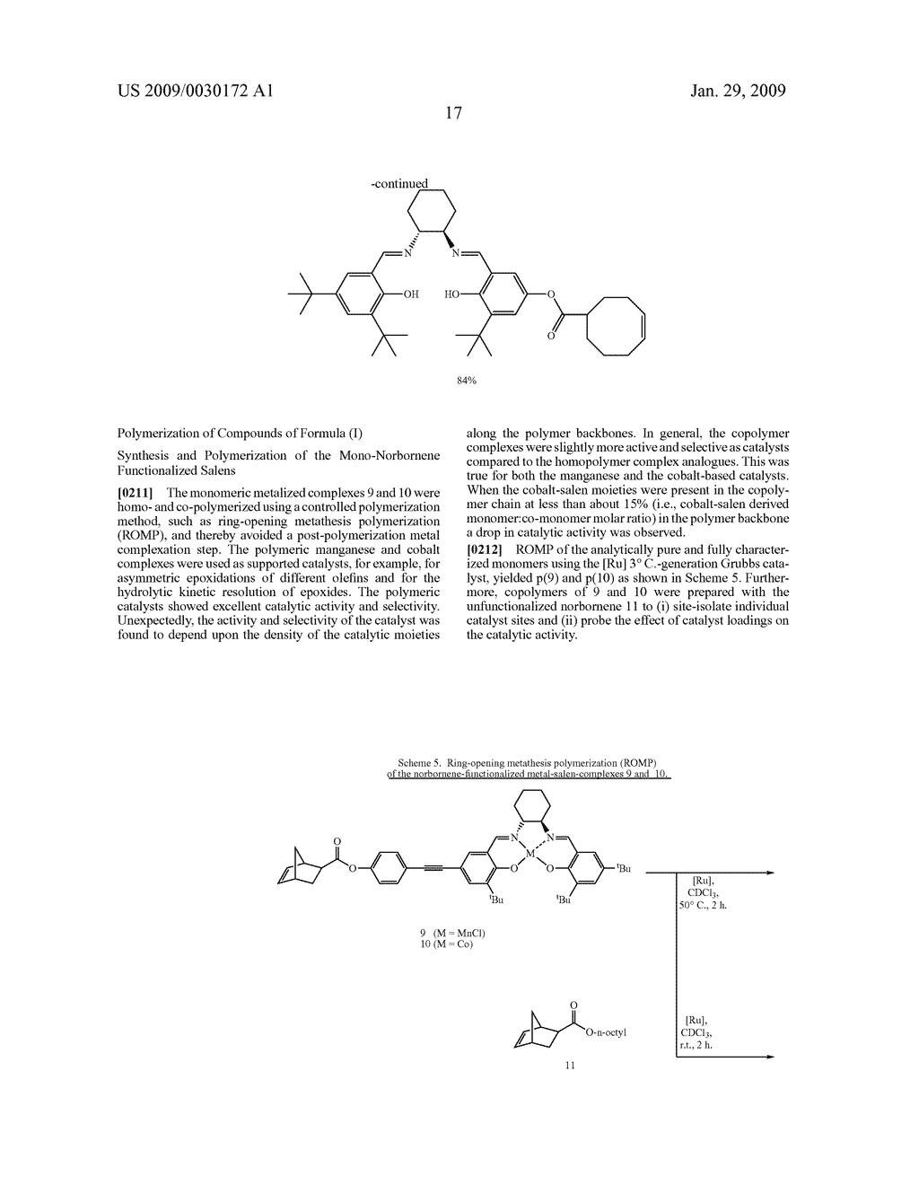 POLYMERIC SALEN COMPOUNDS AND METHODS THEREOF - diagram, schematic, and image 18