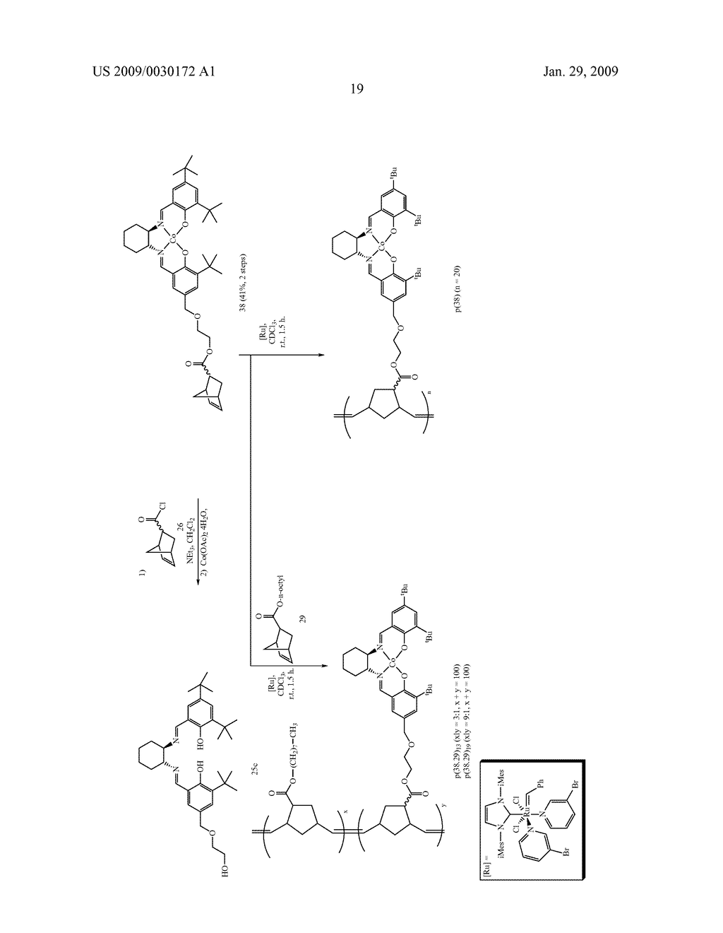 POLYMERIC SALEN COMPOUNDS AND METHODS THEREOF - diagram, schematic, and image 20