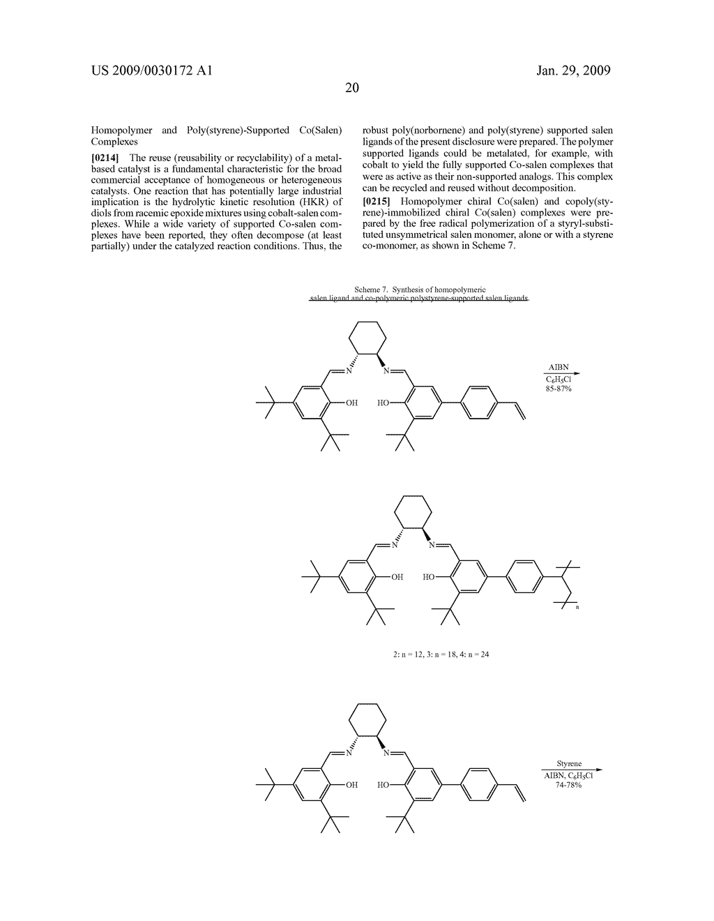 POLYMERIC SALEN COMPOUNDS AND METHODS THEREOF - diagram, schematic, and image 21