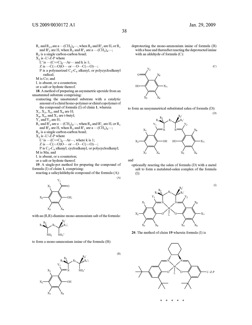 POLYMERIC SALEN COMPOUNDS AND METHODS THEREOF - diagram, schematic, and image 39