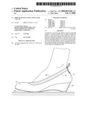 SHOE WITH SOCK LINING AND ELASTIC COLLAR diagram and image