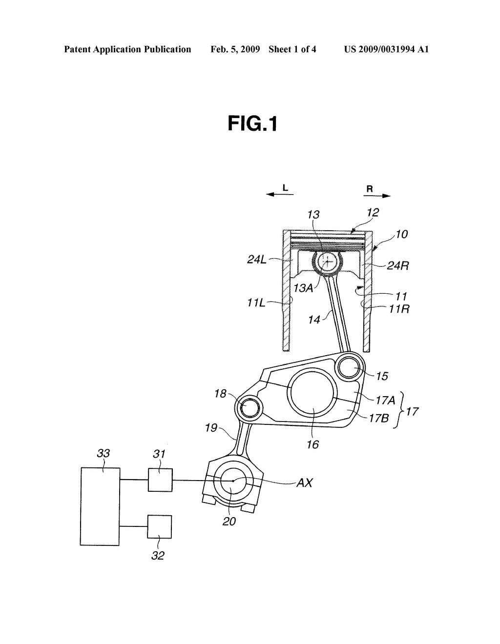 Multi Link Type Piston Crank Mechanism Of Internal Combustion Engine