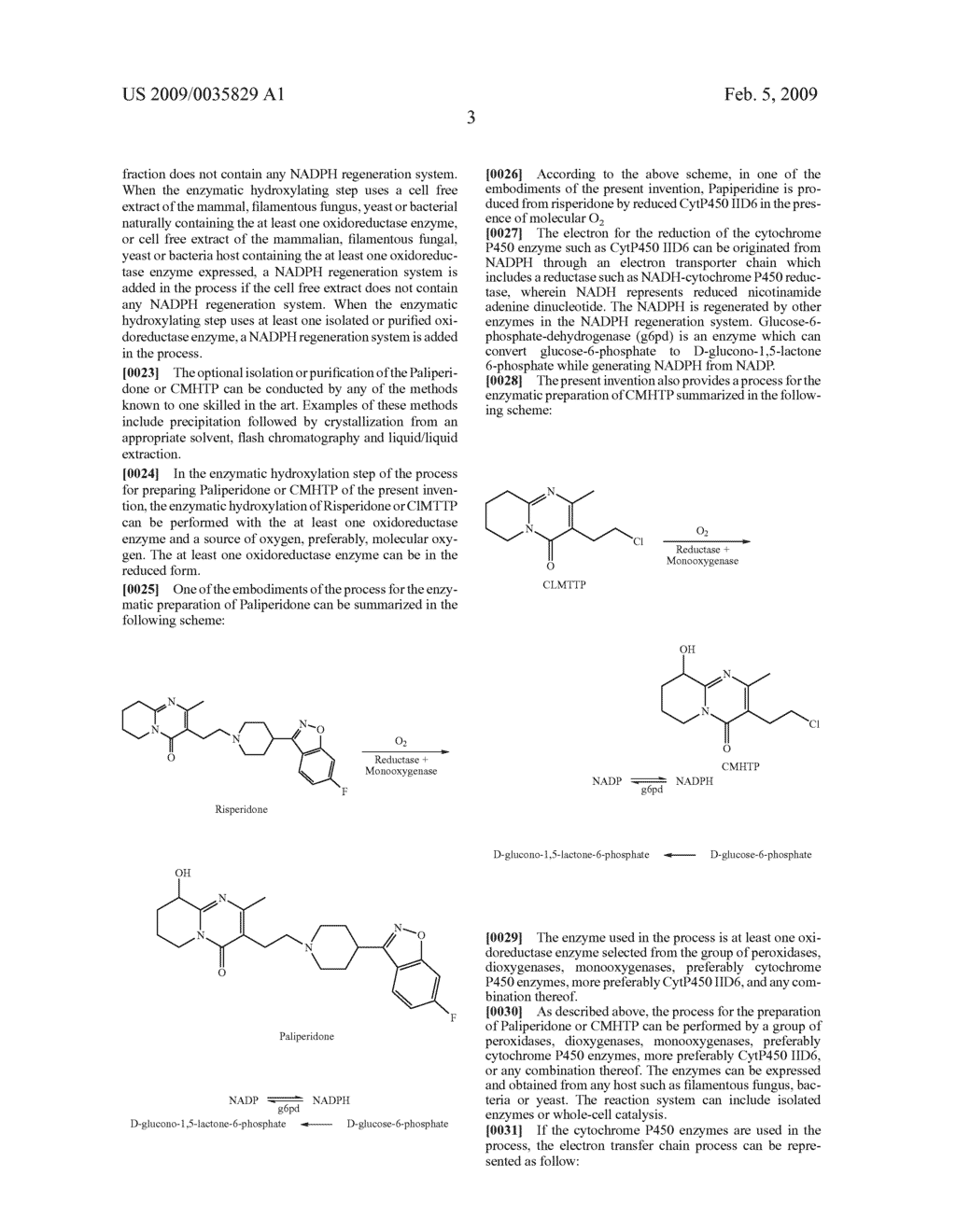Enzymatic process for the preparation of paliperidone and its intermediate CMHTP - diagram, schematic, and image 04