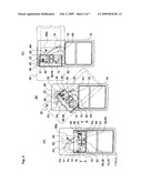 COMBINED MECHANISM FOR SLIDING MOVEMENT AND ROTATING MOVEMENT AND A PORTABLE ELECTRONIC APPLIANCE EMPLOYING THE SAME diagram and image