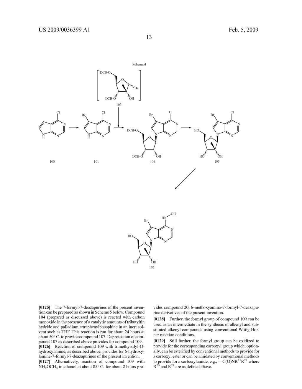 NUCLEOSIDE DERIVATIVES FOR TREATING HEPATITIS C VIRUS INFECTION - diagram, schematic, and image 14