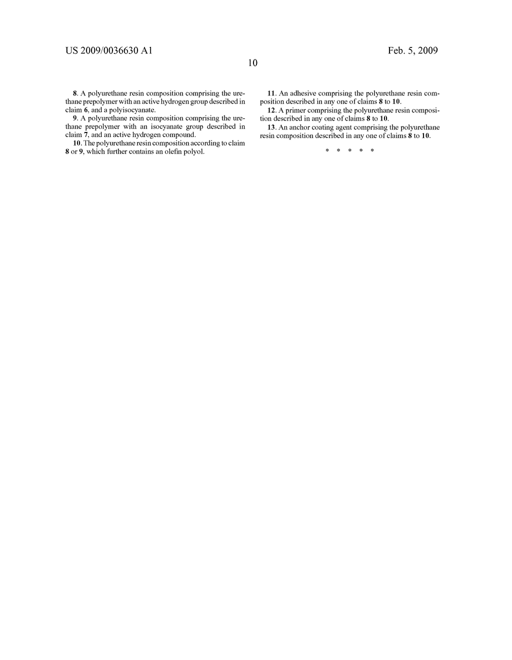 Process for Producing Allophanate Group-Containing Polyisocyanates, Urethane Prepolymers, and Polyurethane Resin Compositions - diagram, schematic, and image 11