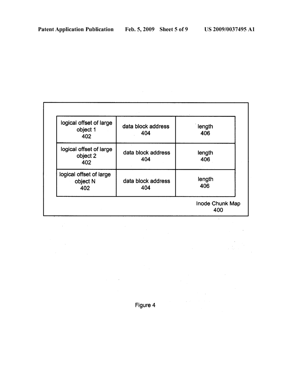 METHOD AND SYSTEM FOR STATE MAINTENANCE OF A LARGE OBJECT - diagram, schematic, and image 06