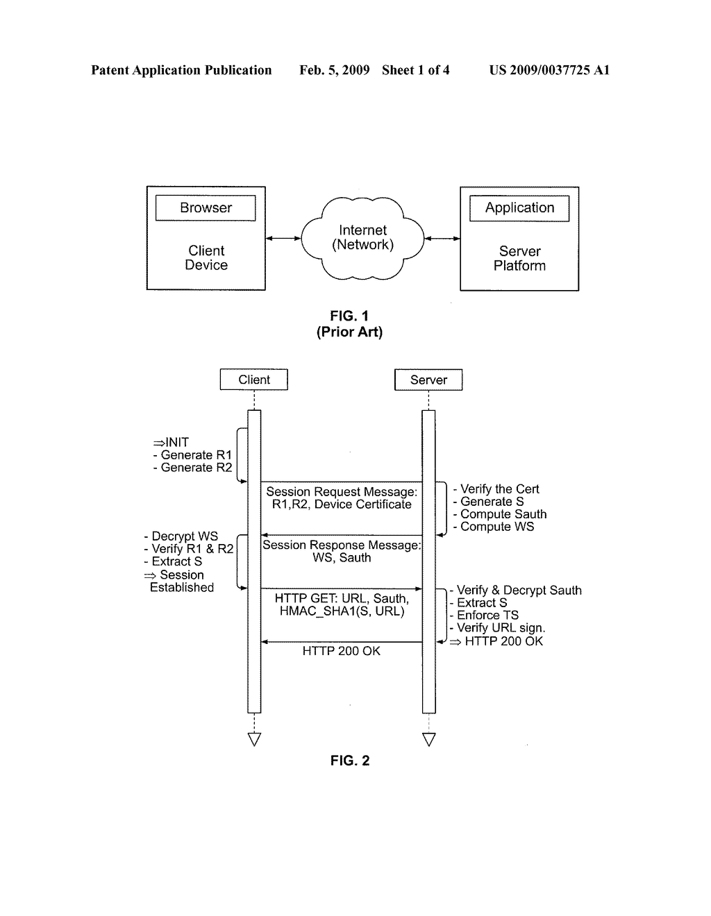 CLIENT-SERVER OPAQUE TOKEN PASSING APPARATUS AND METHOD - diagram, schematic, and image 02