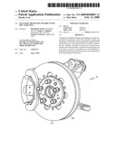Multi-disc brake hub assembly with disc slide pins diagram and image